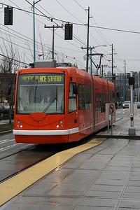 South Lake Union Trolley/Streetcar.