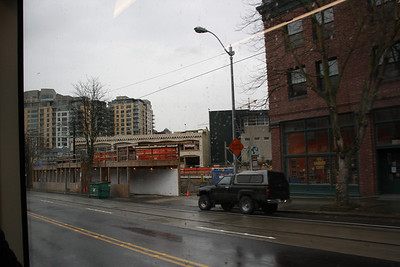 Shots from the South Lake Union Trolley/Streetcar.