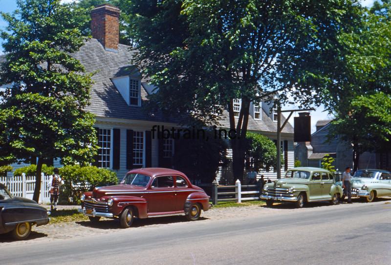 USA1950040221 - USA, Williamsburg, Virginia, 4-1950