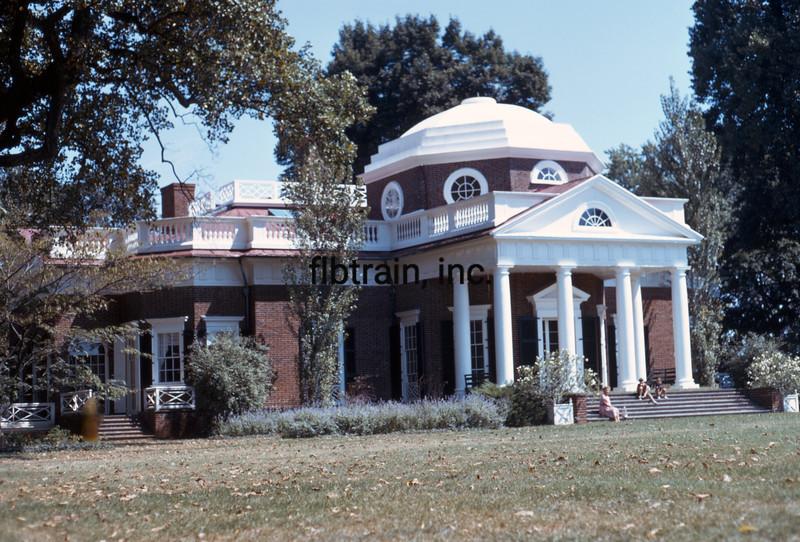 USA1973090031 - USA, Monticello, Virginia, 9-1973