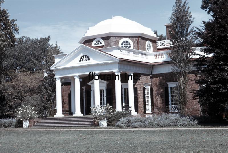 USA1973090030 - USA, Monticello, Virginia, 9-1973