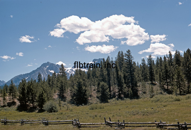 USA1970070843 - USA, Idaho, Sawtooth Mountains, 7-1970