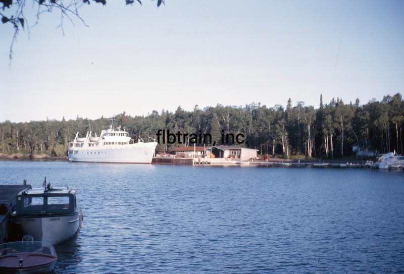 USA1964080335 - USA, Isle Royal NP, Michigan, 8-1964