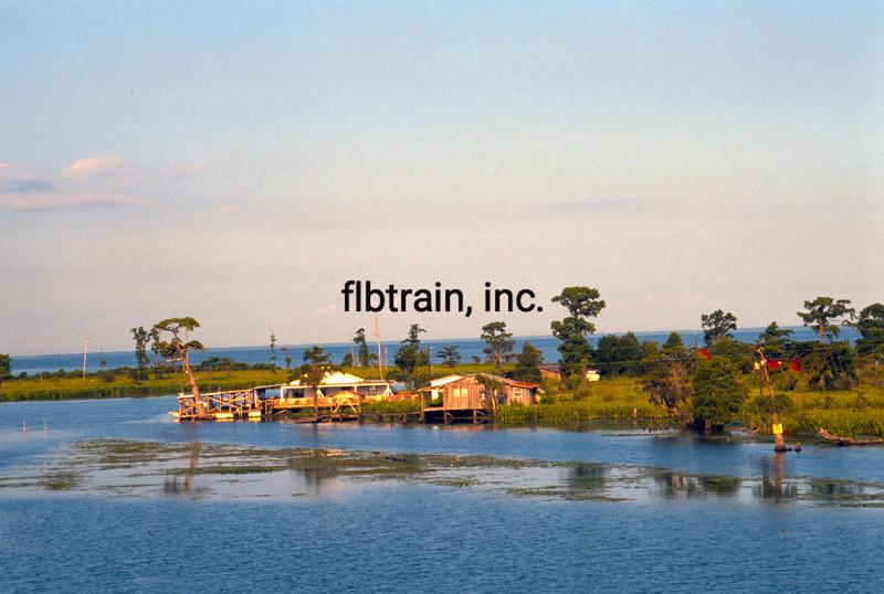 USA1990060030 - USA, Lake Maurepas, Louisiana, 6-1990