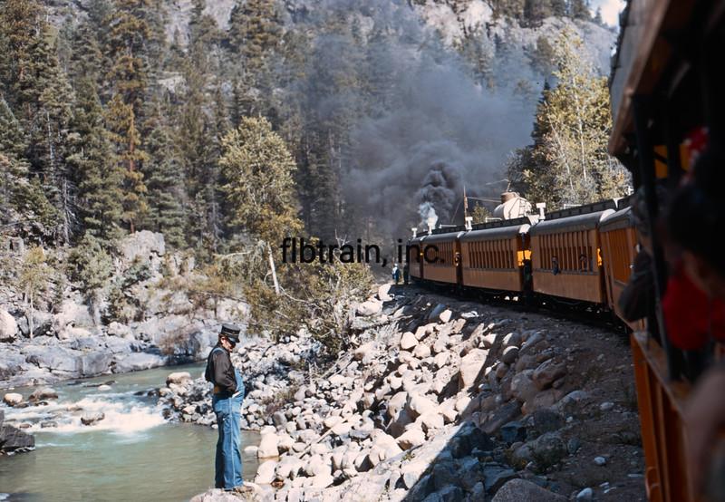 USA1972080018 - USA, Durango-Silverton, Colorado, 8-1972