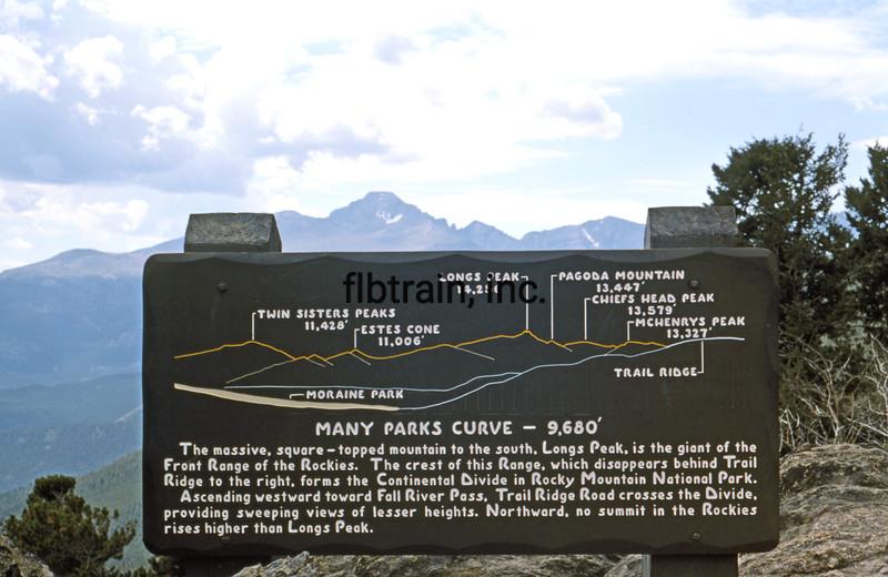 USA1976070106 - USA, Rocky Mountain NP, Colorado, 7-1976