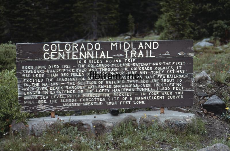 USA1981060066 - USA, Leadville, Colorado, 6-1981