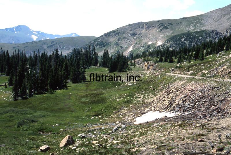 USA1992080995 - USA, Rollins Pass, Colorado, 8-1992