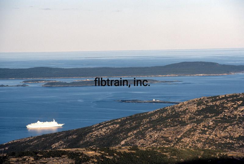 USA1982090166 - USA, Maine, Bar Harbor, 9-1982
