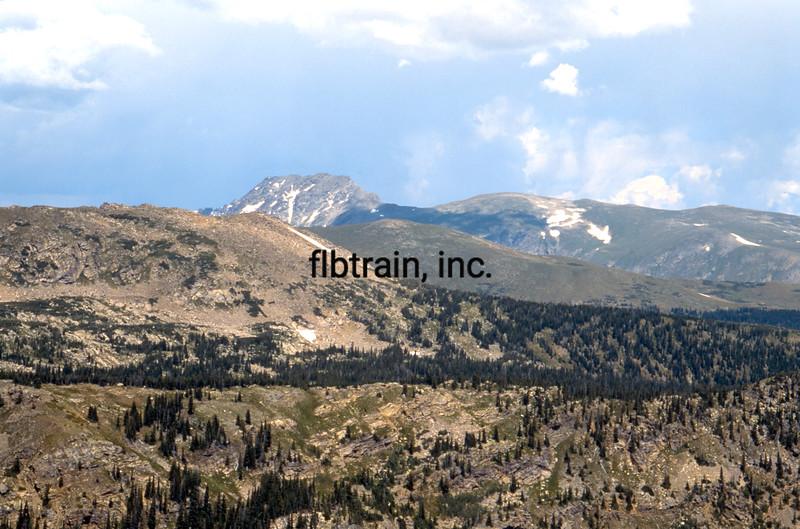 USA1992081028 - USA, Rollins Pass, Colorado, 8-1992