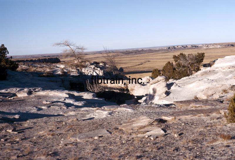 USA1973110012 - USA, Petrified Forest NP, Arizona, 11-1973
