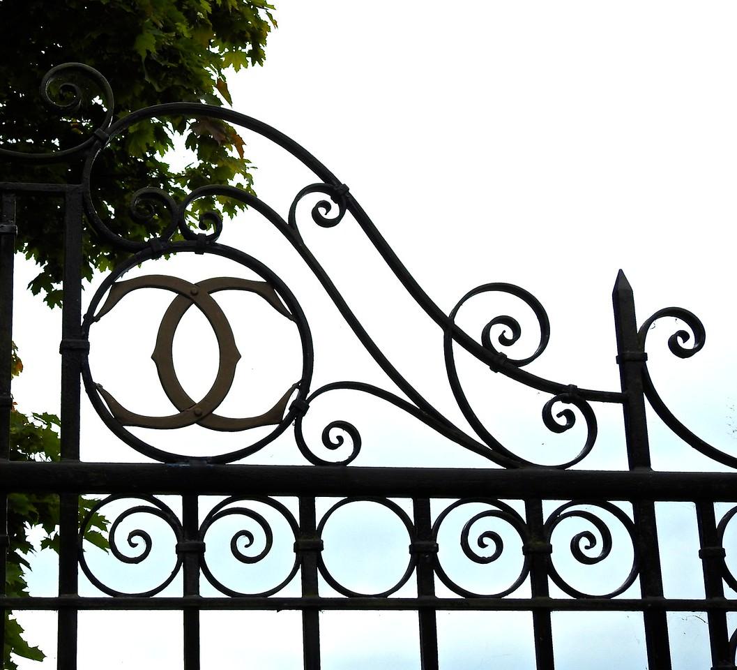 Gate Detail, Highclere Castle