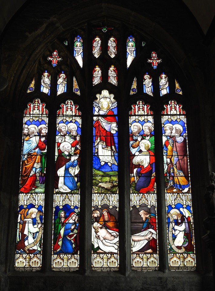 Tavistock Church Window