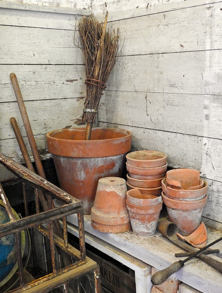 Potting Shed Still Life, Hidcote