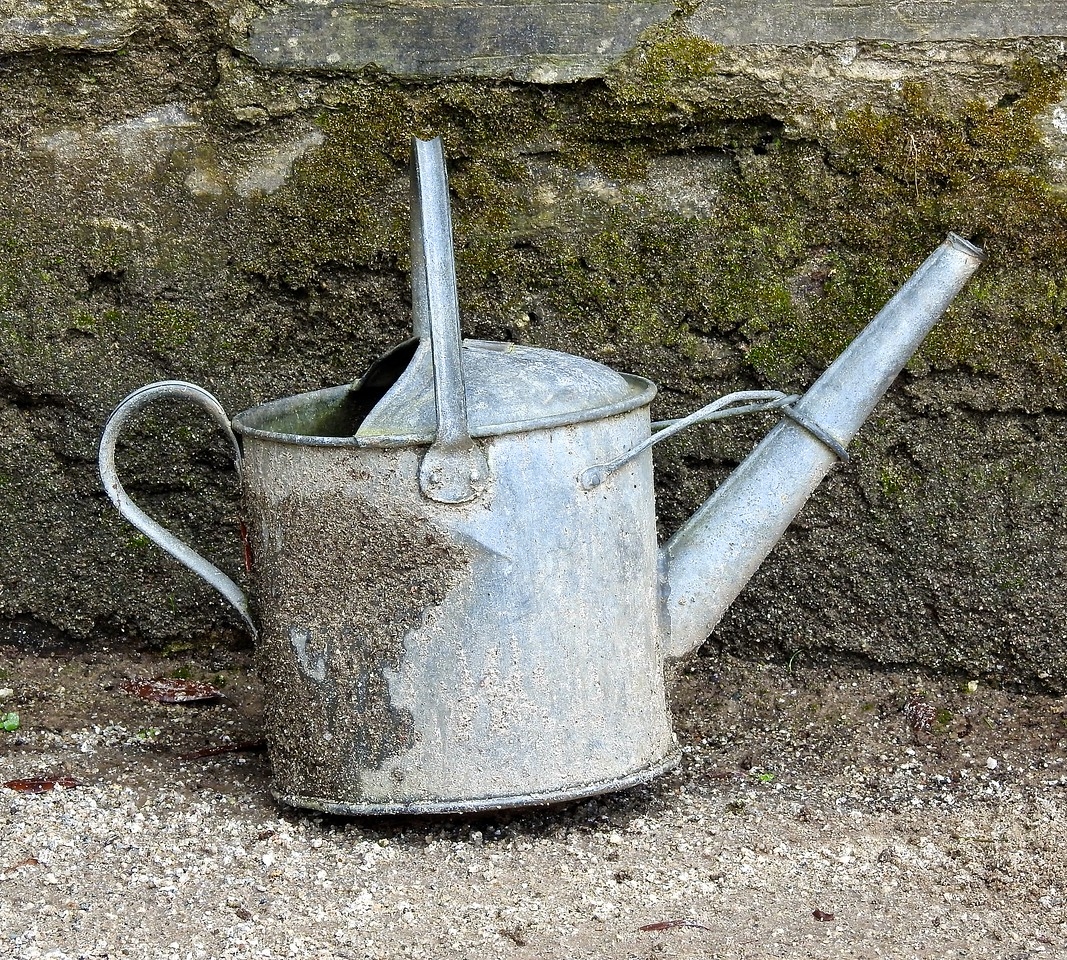 Watering Can, The Lost Gardens of Heligan, Cornwall