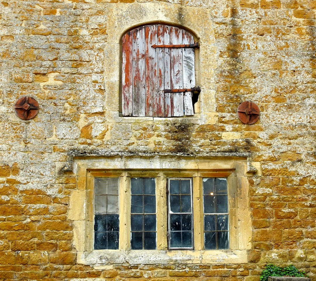Windows at Chastleton House, Oxfordshire