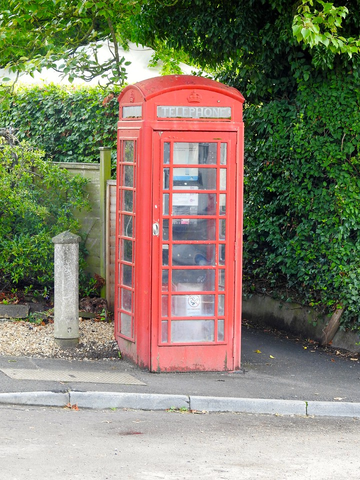 Wiltshire Phone Booth