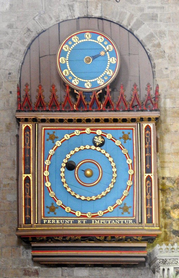 Clock, Exeter Cathedral