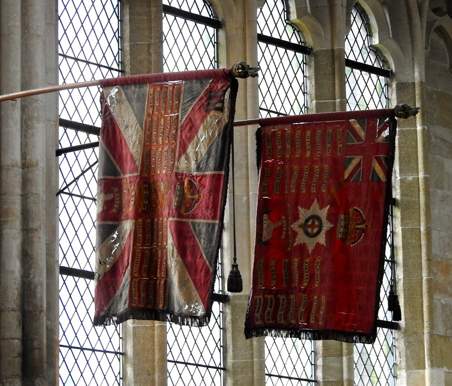 Banners, Exeter Cathedral