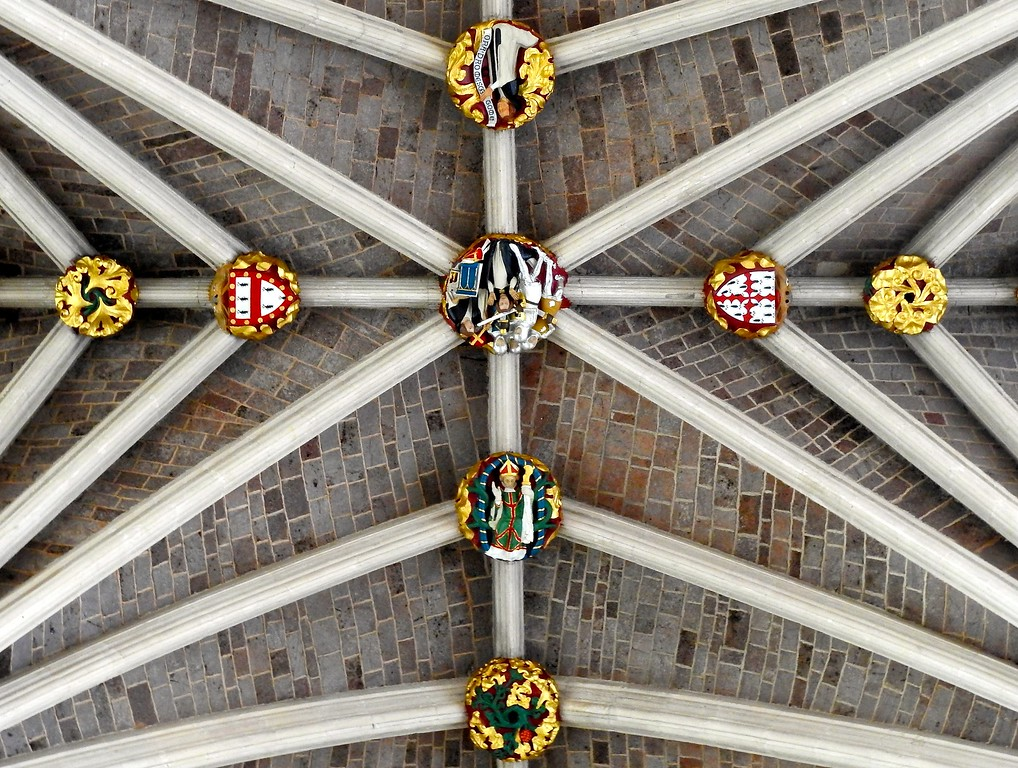 Ceiling Detail, Exeter Cathedral