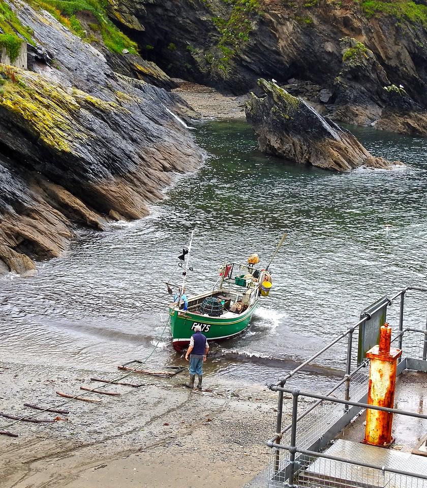 Portloe Boat Launch