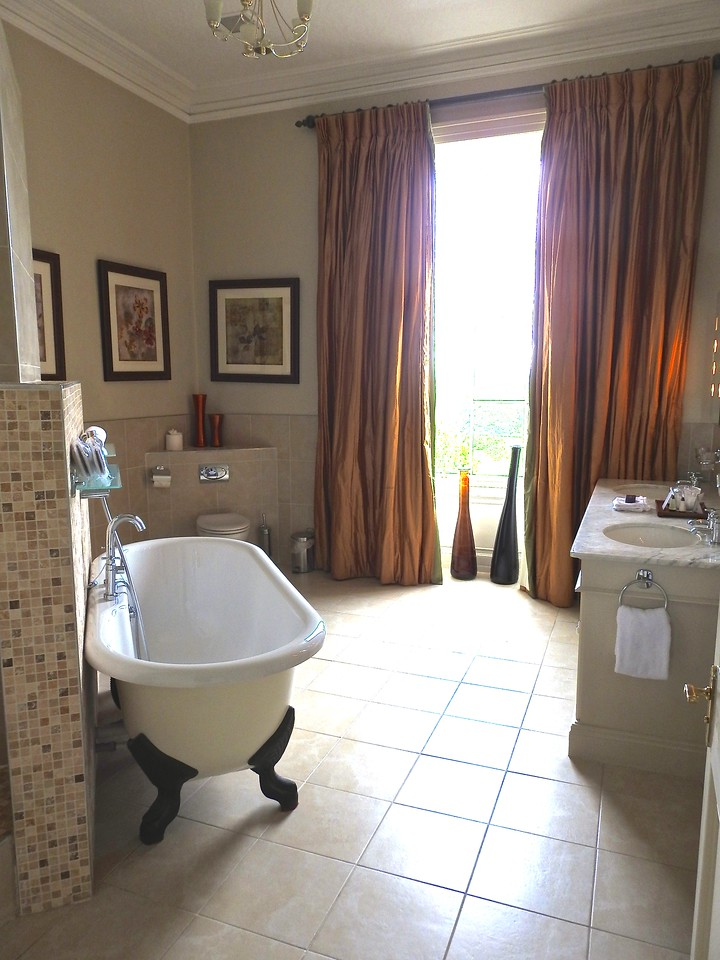 Glamorous Bathroom, The Mount Hotel, Somerset