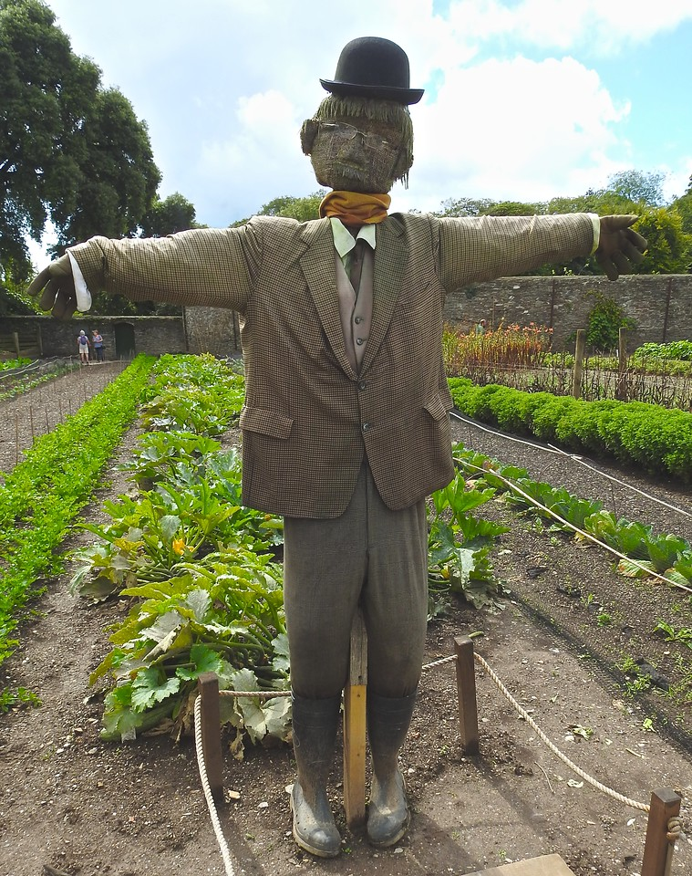 Natty Scarecrow, The Lost Gardens of Heligan, Cornwall