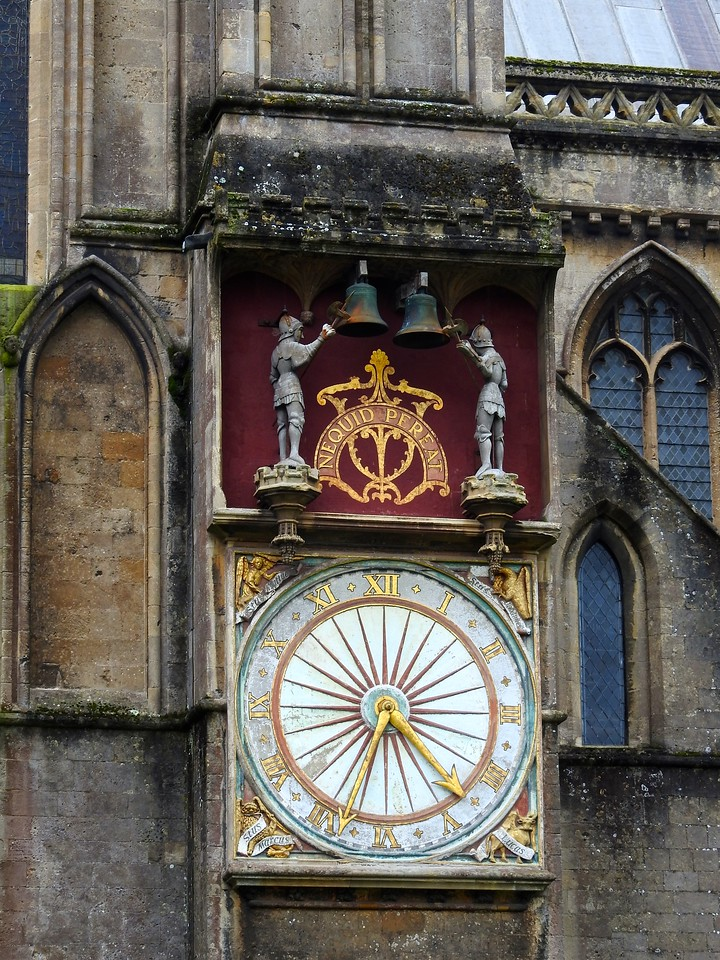 Wells Cathedral Clock