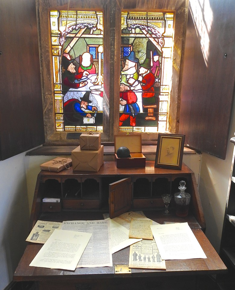 Desk at Chastleton House