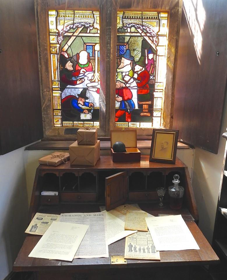 Desk at Chastleton House