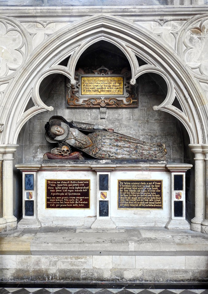 Elizabethan Tomb, Exeter Cathedral