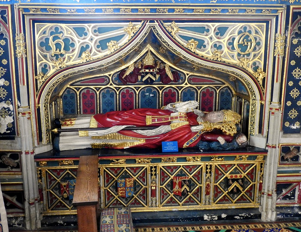 Tomb, Exeter Cathedral