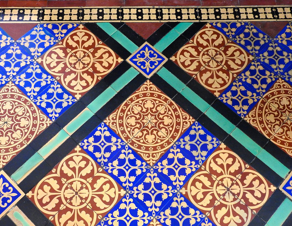 Floor Detail, Exeter Cathedral