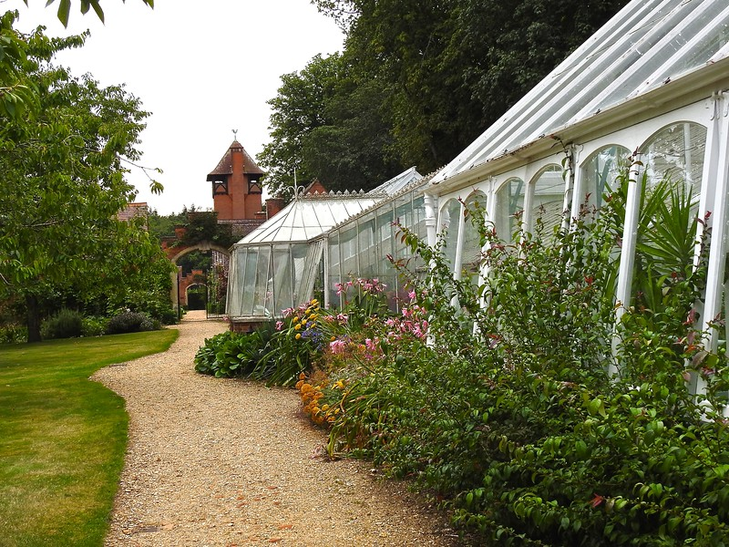 Greenhouses at Tylney Hall, Hampshire