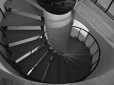 Gibbs Lighthouse - Stairway