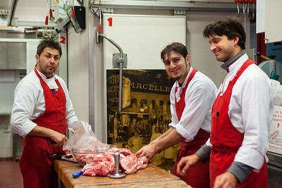 A couple of cute local butchers, the one in the front saw me taking pictures and gestured for the other guys to look over and smile.