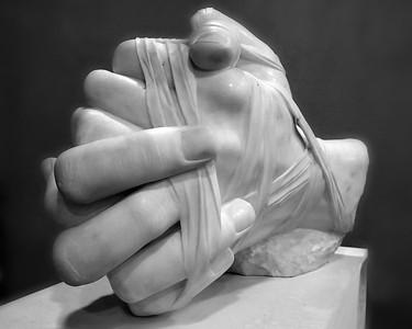 Praying Hands, Vatican, Rome Italy