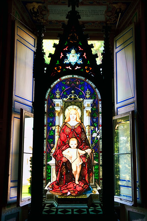 Vatican Stained Glass Window