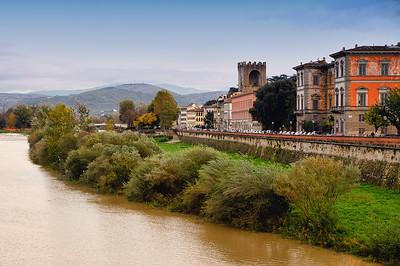 Arno River BankFlorence, Italy