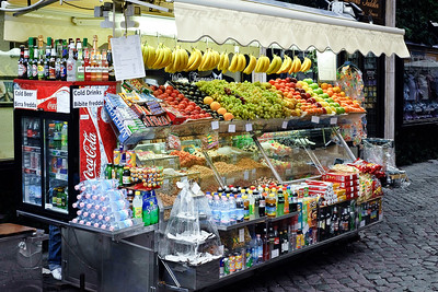 Fruit Stand by the Spanish Steps