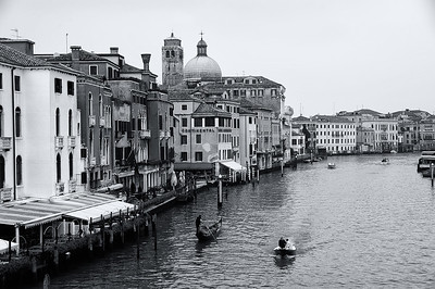 VeniceIt was a cloudy dreary afternoon when we arrived in this beautiful city, converted to b&w, and liked the old time feel of this.