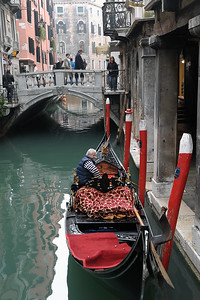 What says Venice more than a Gondola.