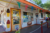 Angel's brother, Juan Gelgaillo's snow cones shop