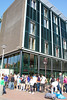 Outside the Anne Frank House.  The line was way too long to go inside.