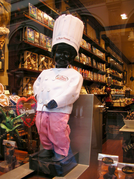 The chocolate version of Mannehen Pis.  Of course Belgium is famous for their chocolates