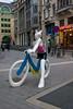 Nice lady on a bike