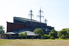 The museum that housed the Viking war ship