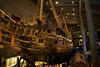 Inside the Vasa Museum This Viking war ship was at the bottom of the sea for 300 years.  It tipped over and sank on. her maiden voyage