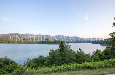 Lake Watauga in East Tennessee