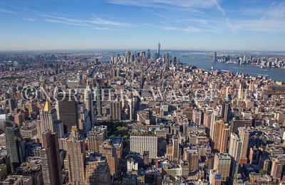 New York City seen from the top of the Empire State Building